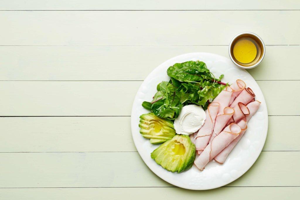 Keto Turkey Plate