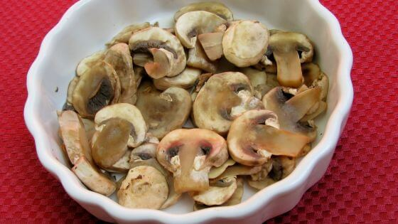 How to cook mushrooms in the microwave