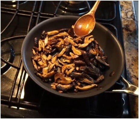 Stir-Fried Shiitake Mushroom
