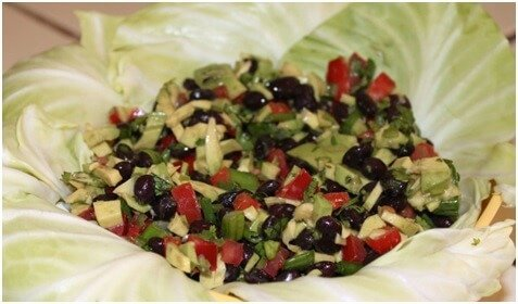 Black Beans and Avacado Salad