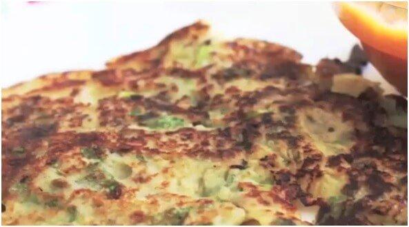 Quinoa pancake