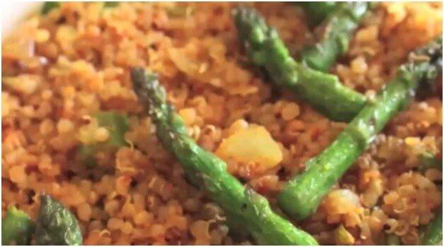 The Quinoa Asparagus
