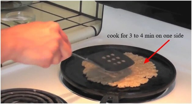 cook for 3 to 4 min on one side
